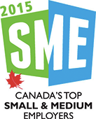 Canada's Top Small & Medium Employers 2015 Logo